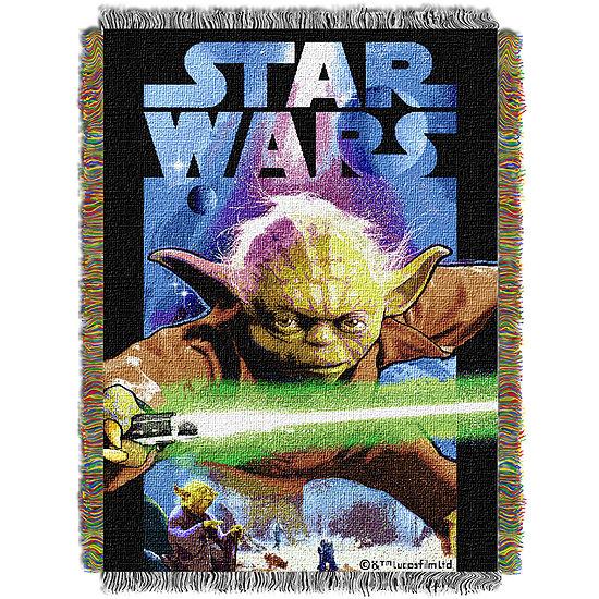 Star Wars Yoda Tapestry Throw