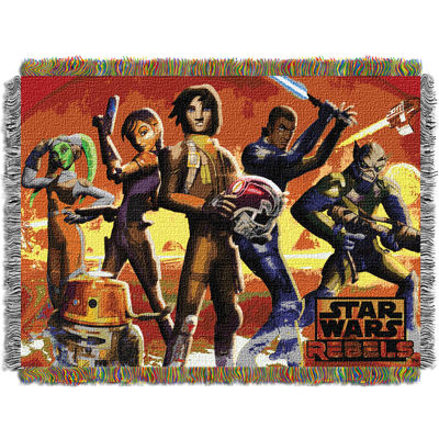 Star Wars Rebels Tapestry Throw