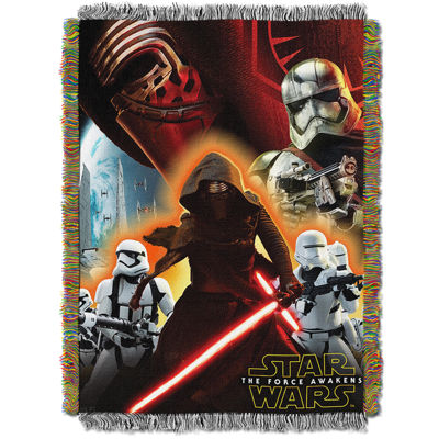 Star Wars The Force Awakens Tapestry Throw