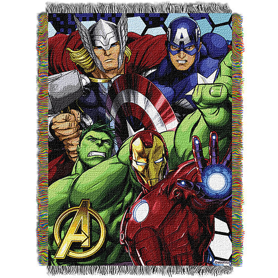 Avengers Tapestry Throw
