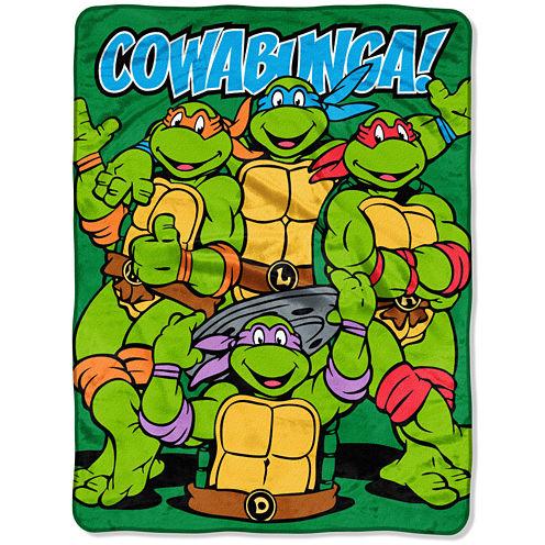Teenage Mutant Ninja Turtles Cowabunga Throw