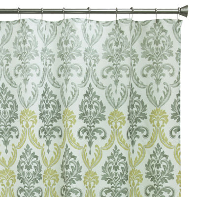 Bacova Portico Damask Shower Curtain