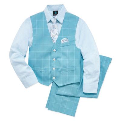 Steve Harvey Vest Set Boys 8-20