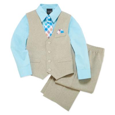 TFW Woven Vest Set Boys 4-10