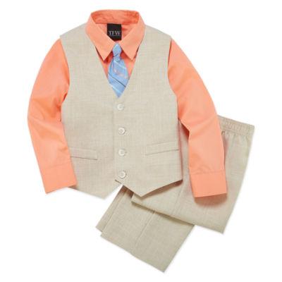 TFW 3pc. Woven Vest Set Boys 4-10