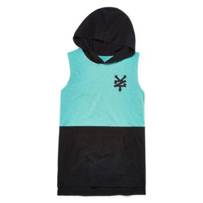 Zoo York Sleeveless Hooded Neck T-Shirt-Big Kid Boys