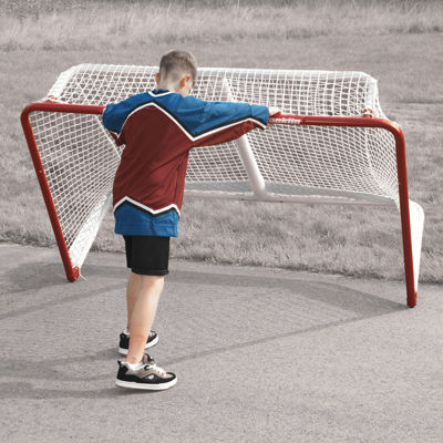 Franklin Sports NHL® Championship Steel Hockey Goal 72In x 48In