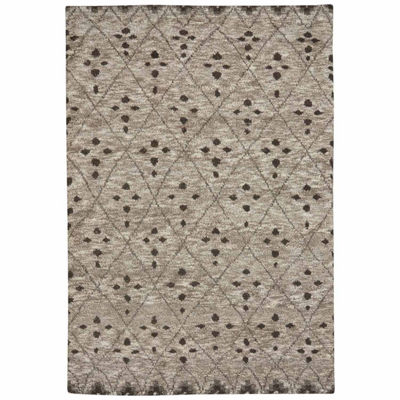 Capel Inc. Fortress-Cobblestone Hand Knotted Rectangular Rugs