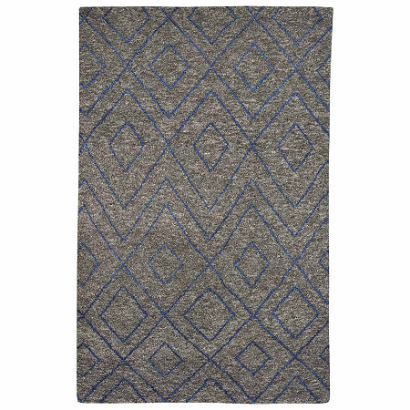 Capel Fortress Jewell Rectangular Rug, One Size , Gray Product Image