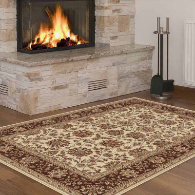 Tayse Elegance Marietta Rectangular Indoor Area Rug