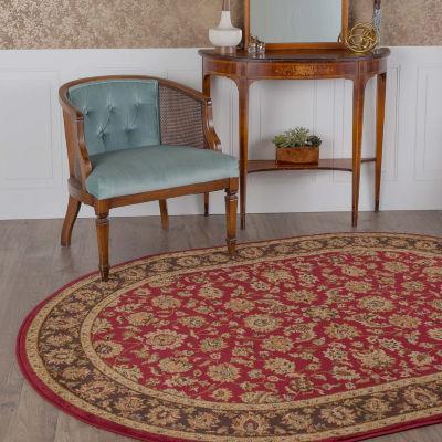 Tayse Elegance Davenport Oval Rugs