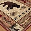 2 7X7 3 RUNNER NATURE BLACK BEAR