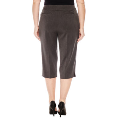 "Worthington® Bi-Stretch Cropped Pants 20"" - Plus"