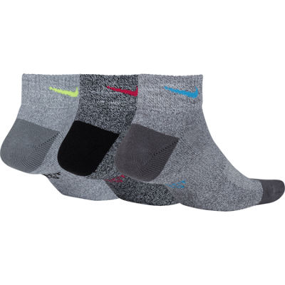 Nike 3 Pair Quarter Socks - Womens