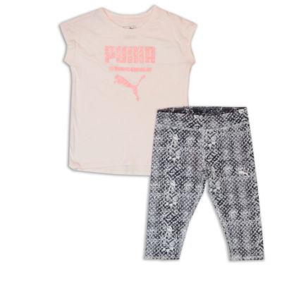 Puma Puma Kids Apparel 2-pc. Legging Set-Toddler Girls