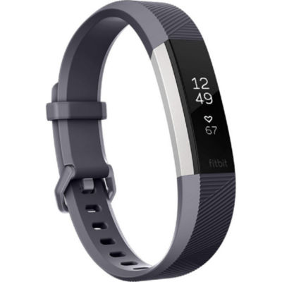 Fitbit Alta HR Heart Rate Activity Tracker - Blue Gray