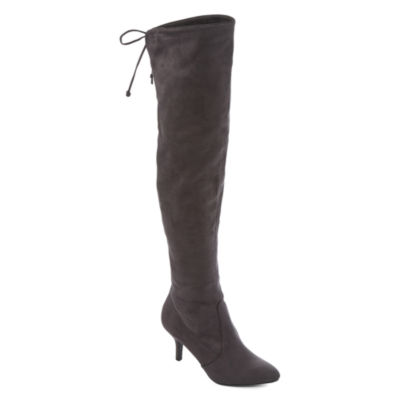 Zigi Soho Womens Renny Over the Knee Boots Pull-on
