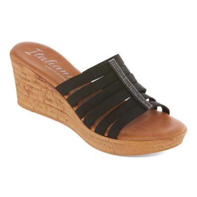 Italiana By Italian Shoemakers Womens Fiona Slide Sandals