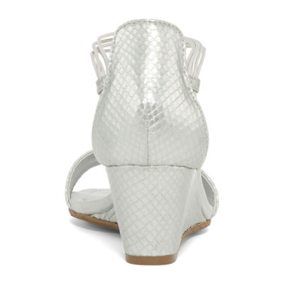 New York Transit Bring Music Womens Wedge Sandals