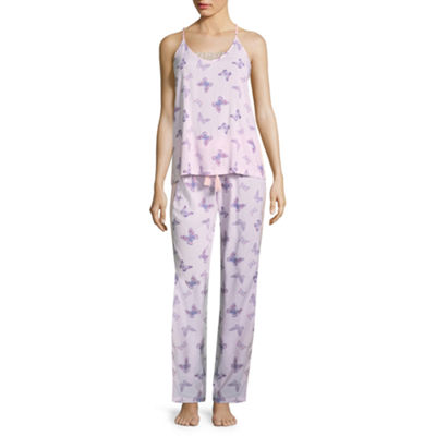 Love Dreams 2-pack Geometric Pant Pajama Set