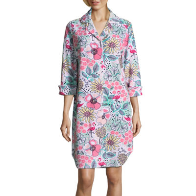 Lissome Lounge Terry 3/4 Sleeve Nightshirt