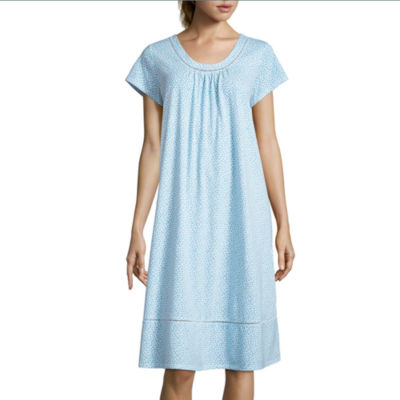 Adonna Jersey Short Sleeve Round Neck Nightgown