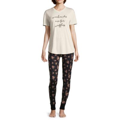 Wallflower Yummy Legging Pajama Set