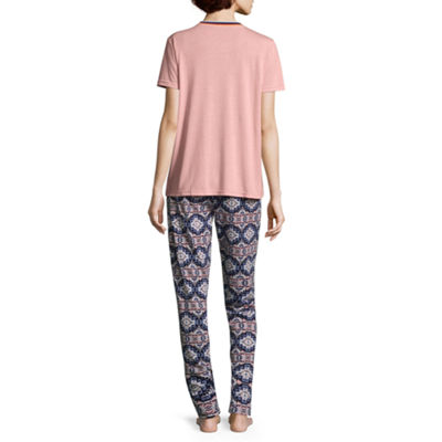Wallflower Tee and Jogger Pajama Pant Set