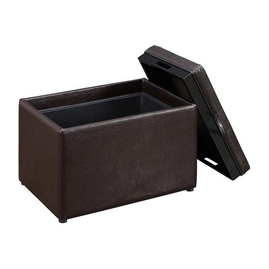 Designs 4 Comfort Accent Storage Ottoman