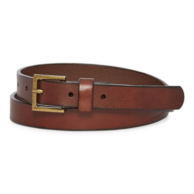 Mixit™ Leather Skinny Belt
