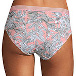 Ambrielle Cotton Knit High Cut Panty