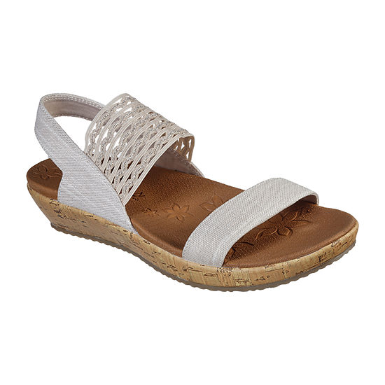 Skechers Womens Brie Most Wanted Strap Sandals