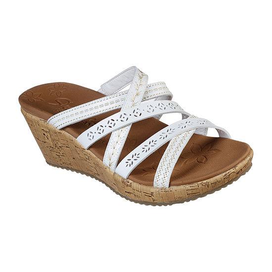 Skechers Womens Beverlee - Tiger Posse Wedge Sandals