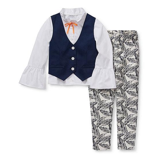 IZOD Little Kid Girls 3-pc. Pant Set