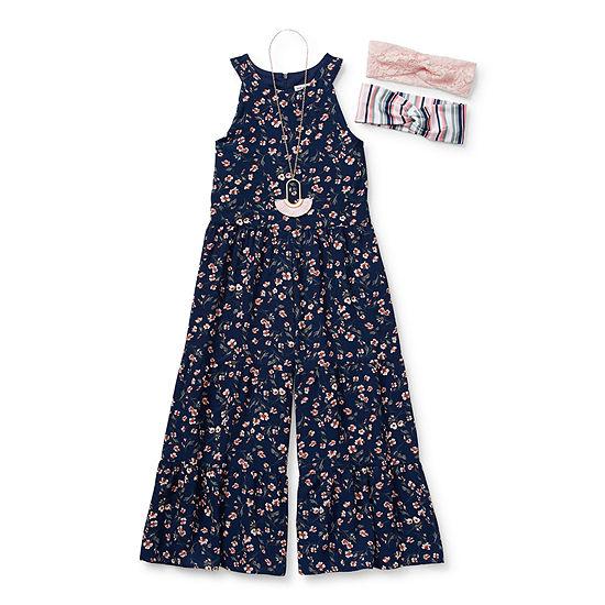 Knit Works Jumpsuits Little Kid / Big Kid Girls Jumpsuit