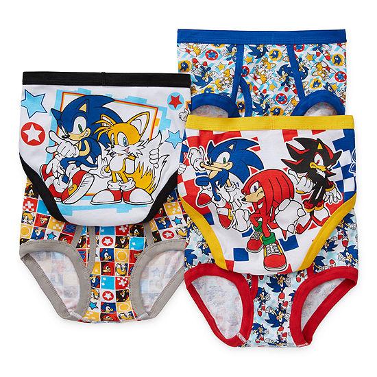 Little Kid Boys 5 Pair Sonic The Hedgehog Briefs