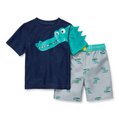 Okie Dokie - Toddler Boys Trunk Set