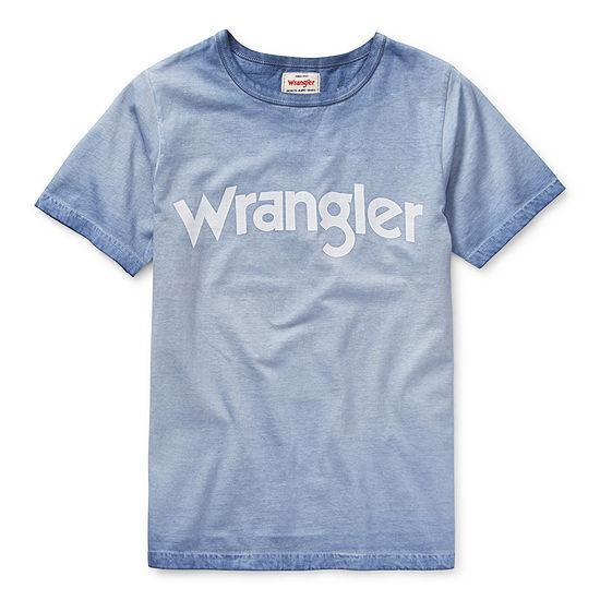 Wrangler-Big Kid Boys Short Sleeve T-Shirt