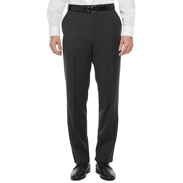 Stafford Super Suit Charcoal Mens Classic Fit Suit Pants