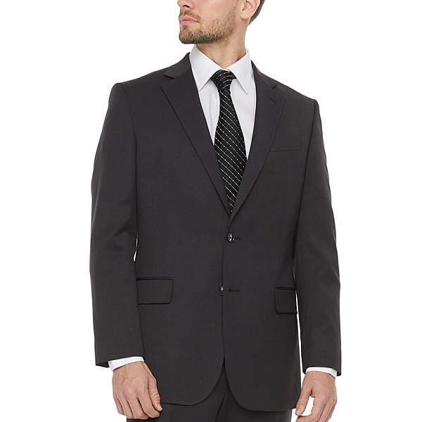Stafford Super Suit Charcoal Mens Classic Fit Suit Jacket