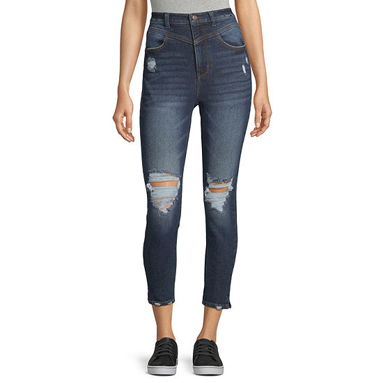 Vanilla Star - Juniors Womens High Rise Skinny Fit Jean