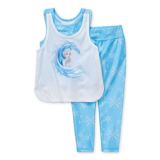 Disney Collection Little & Big Girls 2-pc. Frozen Legging Set