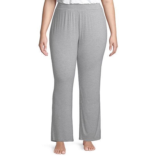 Ambrielle Knit Essential Pajama Pants- Plus