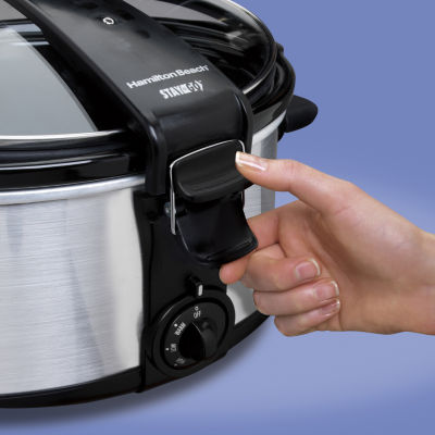 Hamilton Beach® Stay or Go 7-qt. Oval Slow Cooker