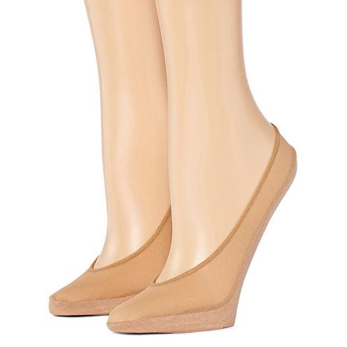 2-pack Mesh Liner Socks