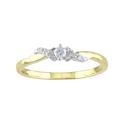 1/10 CT. T.W. Diamond Ring