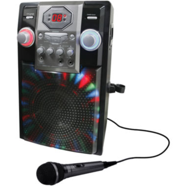 GPX J182B Portable Karaoke Party Machine
