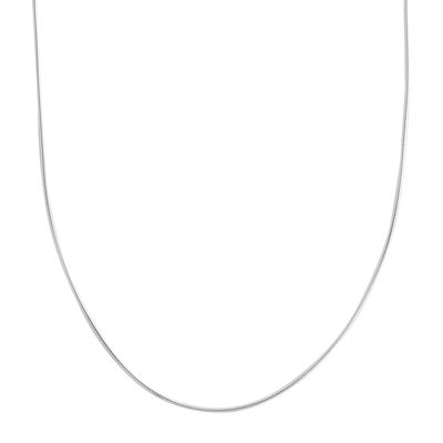 "Silver Reflections™ 20"" 1mm Snake Chain Necklace"