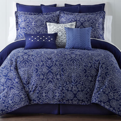 Eva Longoria Home Adana 4-pc. Comforter Set