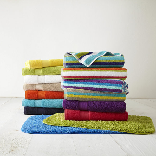 Hand Towel Near Me: JCPenney Home Solid Bath Towels JCPenney